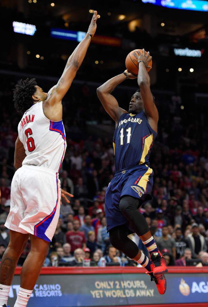 The injury bug bites back: Pelicans' Anthony Davis feels 'better' but remains questionable for Tuesday's game at the Lakers _lowres