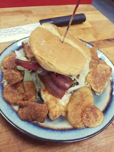 Lost Cove Pastrami Sandwich