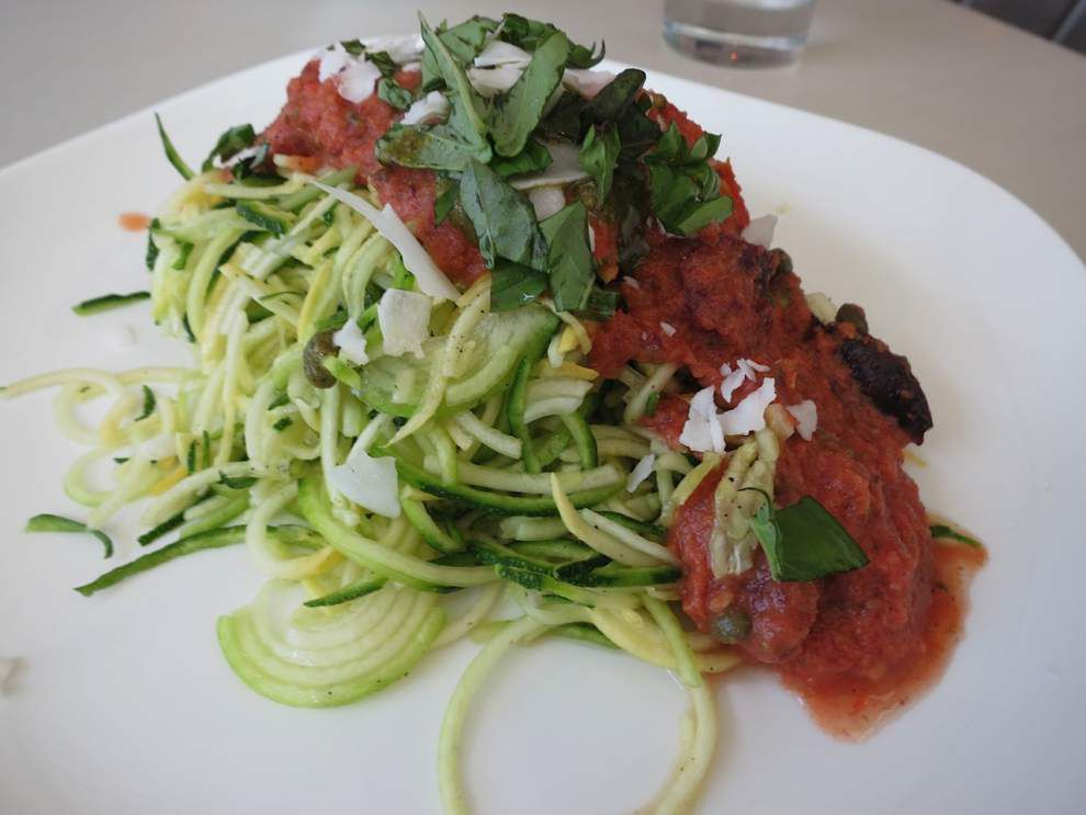 Digging In with Ian McNulty: Vegetable spaghetti ... Yes, you can find it in New Orleans _lowres