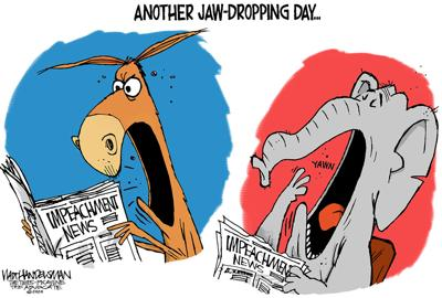 Walt Handelsman: Another Jaw-Dropping Day...