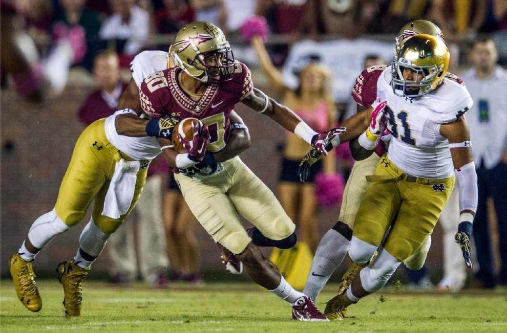 Florida State holds off Notre Dame with help of late pass interference penalty _lowres