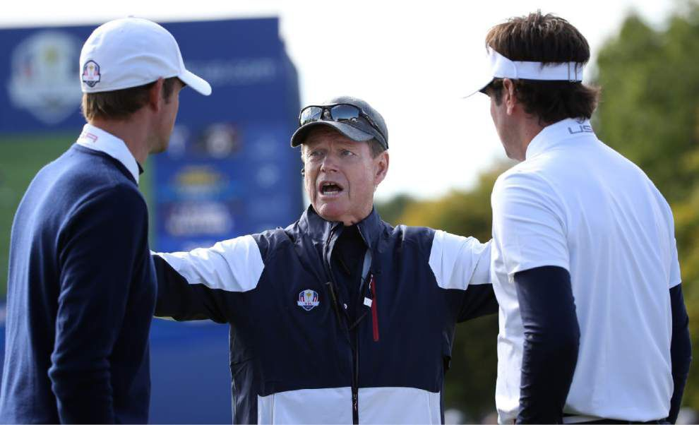 Familiar Ryder Cup woes return as U.S. team falls behind Europe 5-3 _lowres