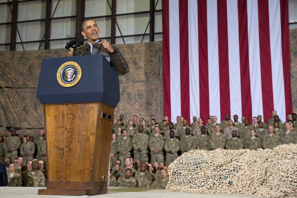 Obama charts 2016 end to Afghanistan presence _lowres