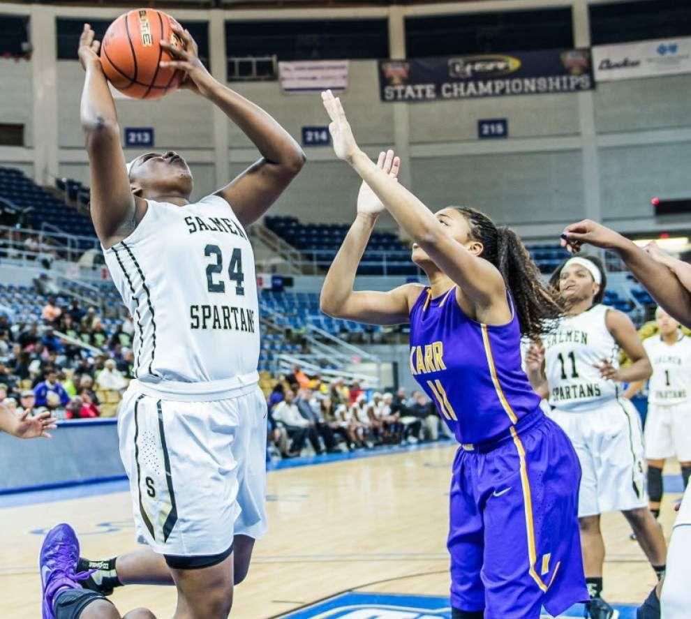 Salmen defeats Karr 66-57, advances to Class 4A girls basketball championship game _lowres