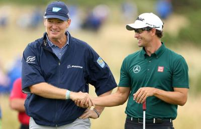 New generation emerging at golf's oldest major _lowres