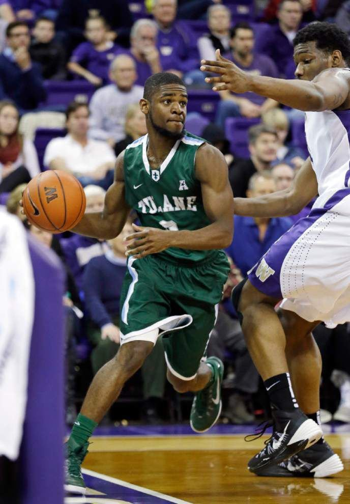 Green Wave men full of confidence heading into AAC tourney _lowres