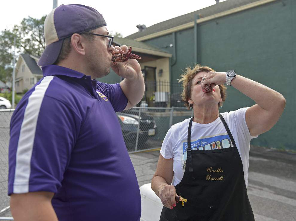 Photos: Crawfish boil in Omaha, Nebraska gives LSU baseball fans a taste of home _lowres