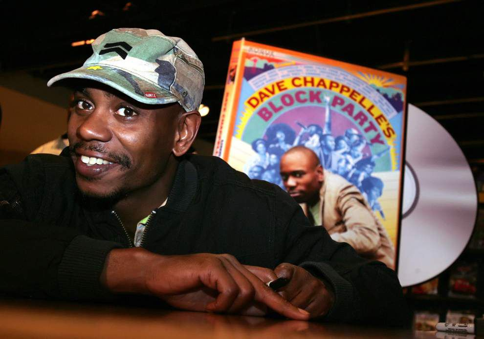 Third time's the charm: Another Chappelle show added at the Saenger _lowres