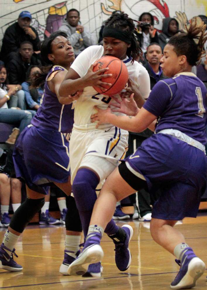 Girls Top 28 tournament: Ursuline, Karr give New Orleans feel to Class 4A semifinals _lowres