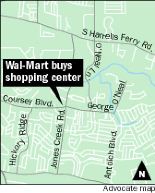Wal-Mart buys Coursey Commons Shopping Center in Baton Rouge _lowres