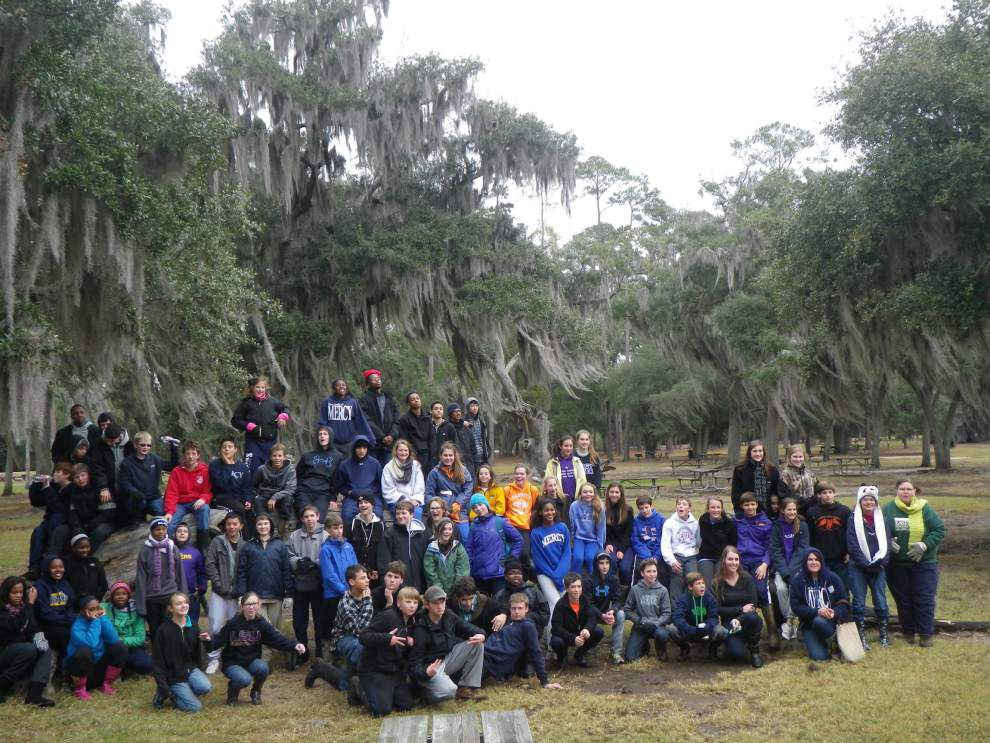 Our Lady of Mercy students participate in coastal project _lowres