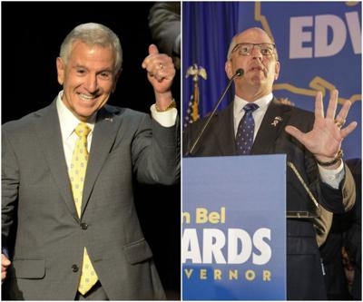Eddie Rispone and John Bel Edwards STOCK