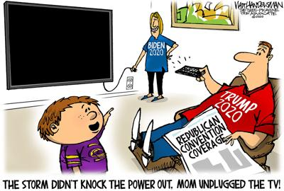 Walt Handelsman: Power Outage