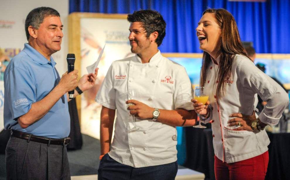 Chef Aaron Burgau crowned King of Louisiana Seafood _lowres