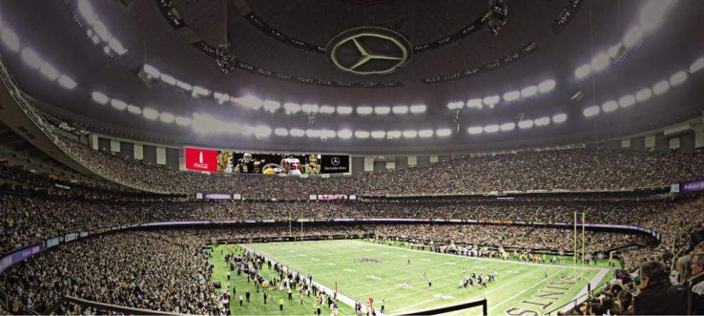 Even At 40, Mercedes Benz Superdome Has Stayed Fresh, But How Much Longer.  Rendering Provided By The New Orleans ...