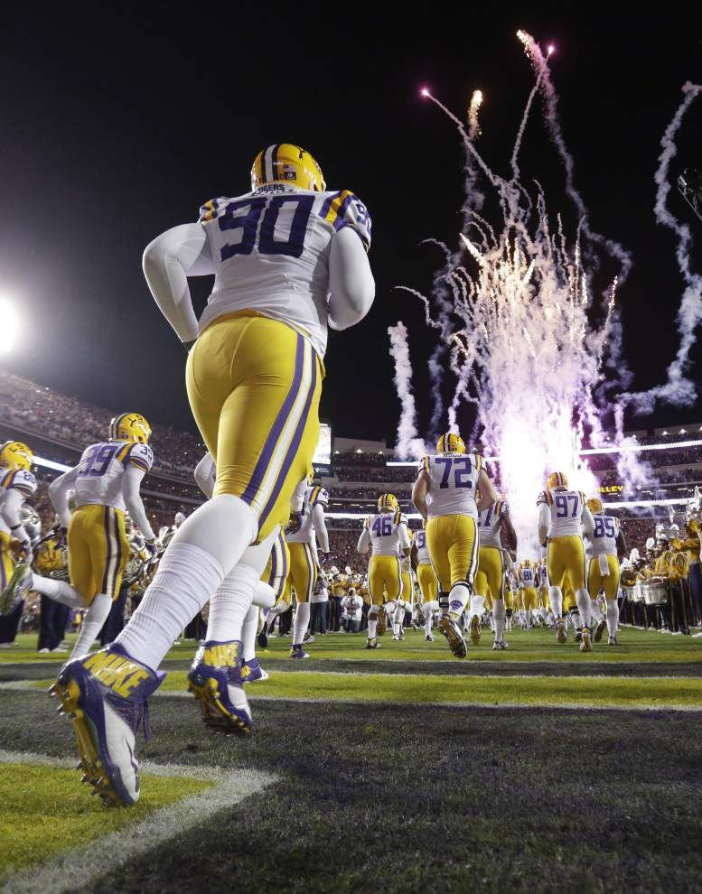 Rabalais: Another LSU football season is here, and it's time for that magical run through the tunnel _lowres