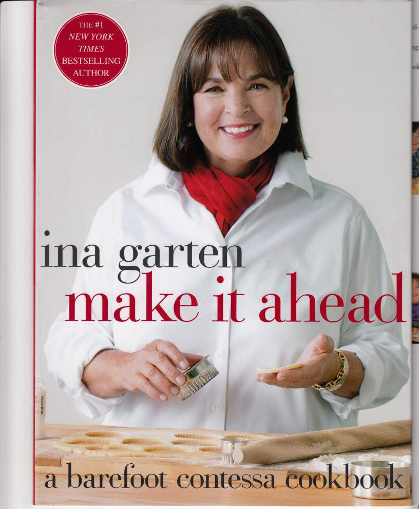 Side Dish: Ina Garten gets ahead of cooking _lowres