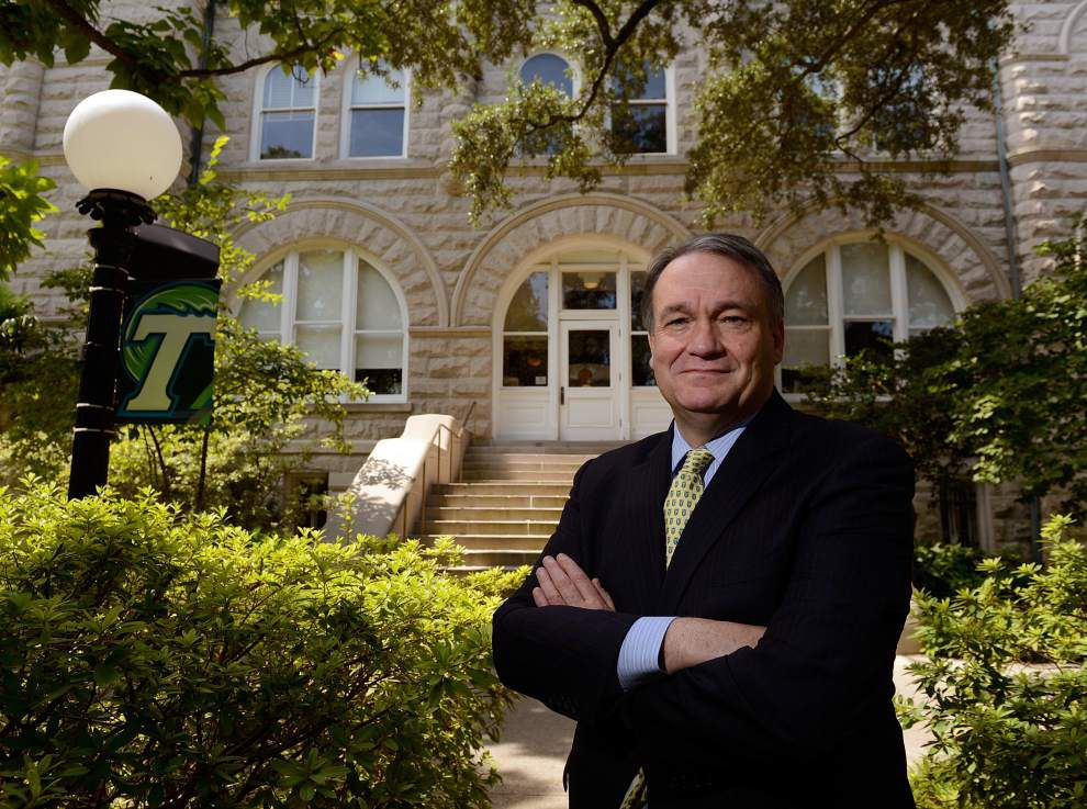 New Tulane president focuses on curriculum _lowres