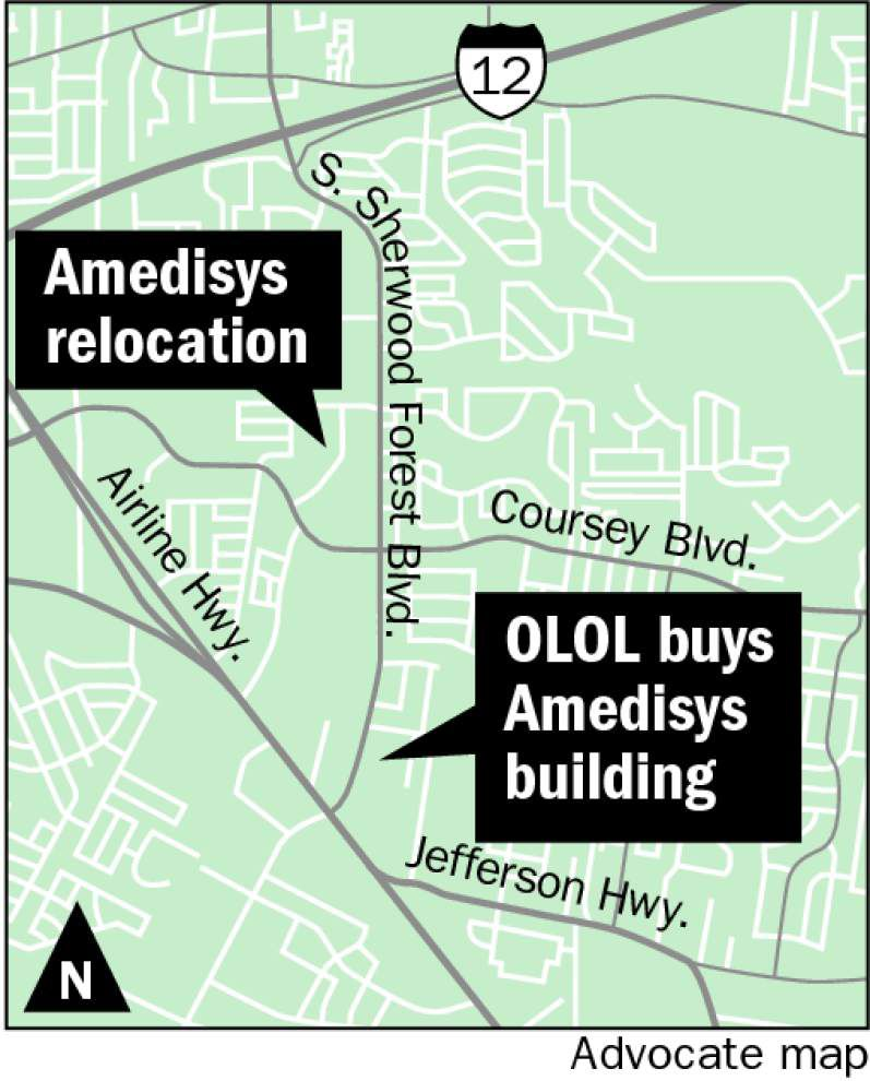 OLOL parent company buys Amedisys building on Sherwood for $20 million _lowres