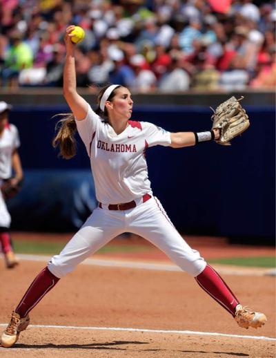 Oklahoma's Kelsey Stevens stymies Cajuns _lowres