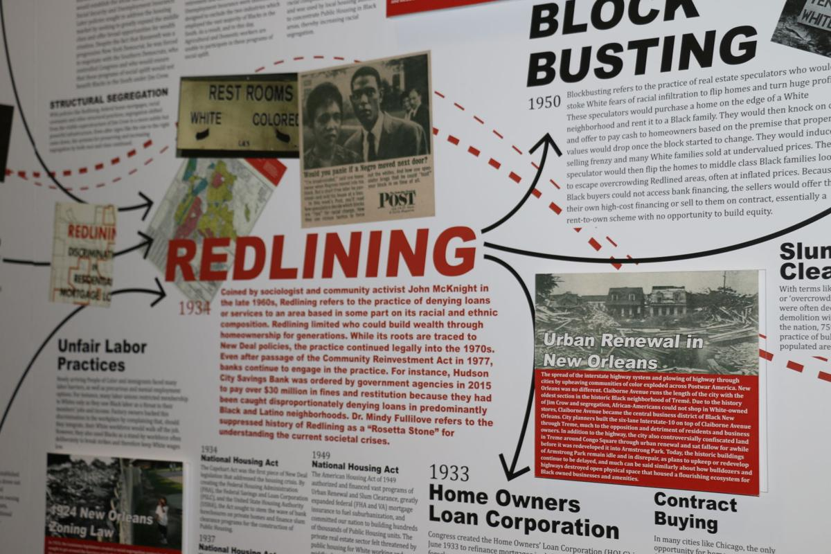 Undesign the Redline Exhibit at Small Center