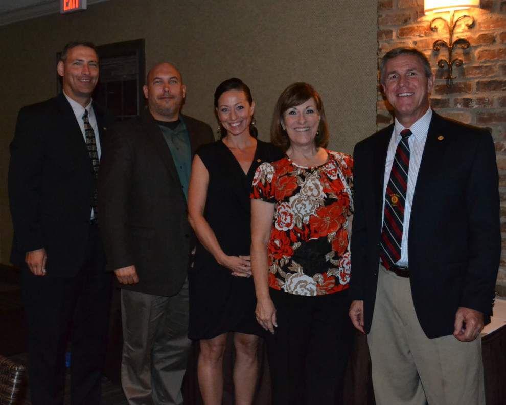 Rotary Club honors members _lowres