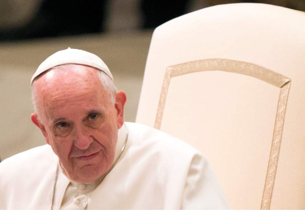 Jeff Sadow: We must follow Pope Francis' calls against materialism as a basis for society _lowres