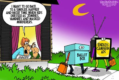 Walt Handelsman: New Cartoon Caption Contest Winners!
