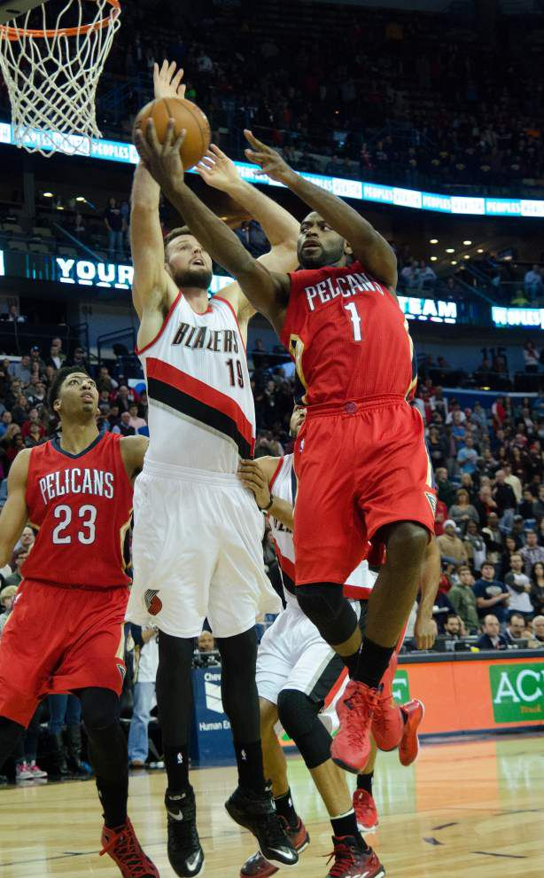 Pelicans give Trail Blazers little resistance in 114-88 loss _lowres