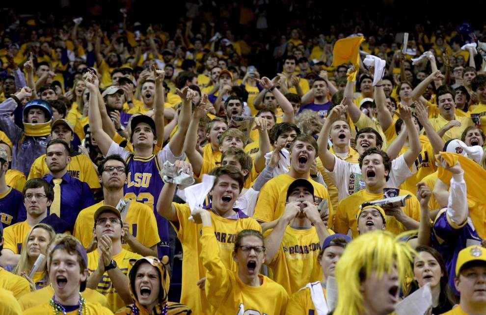 LSU's Joe Alleva: 'Embarrassing' to hear students' vulgar taunts at Oklahoma game; national pundits weigh in _lowres