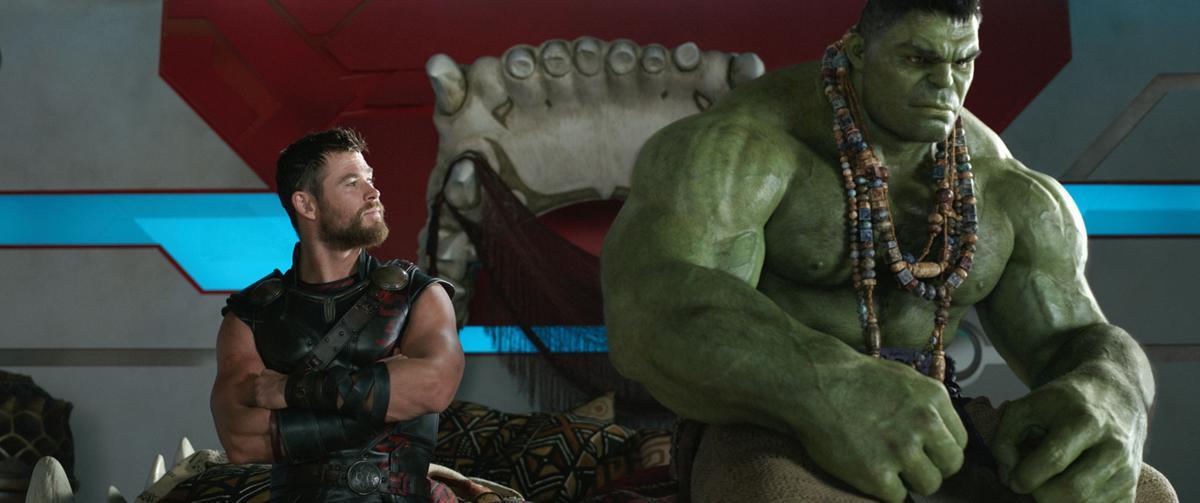 'Thor: Ragnarok' still 5 for Red