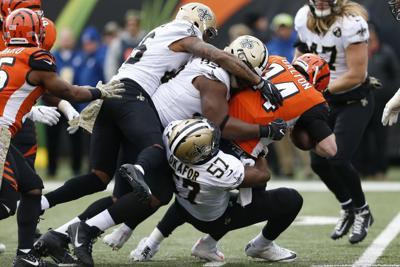 Saints film room  Defense back to aggressive schemes 4d956fe36