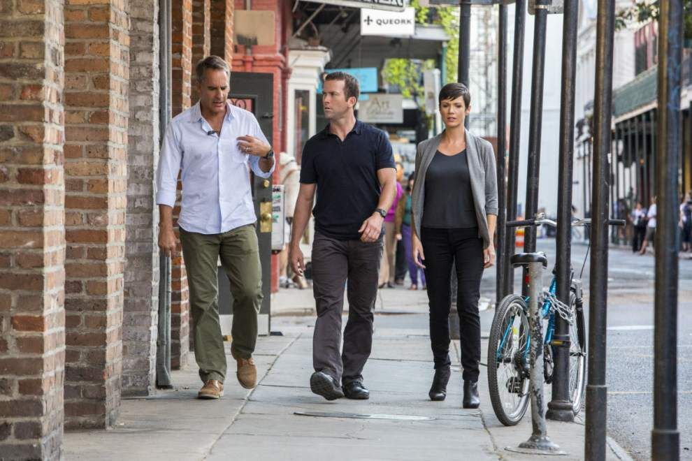 Actor Wes Brown returns to his home state for featured role in 'NCIS: New Orleans' _lowres