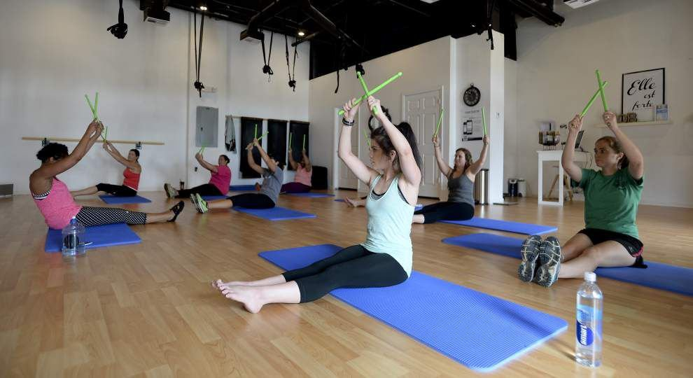 Fusing cardio and pilates, new 'Pound' regimen offers exercise while beating out frustrations _lowres