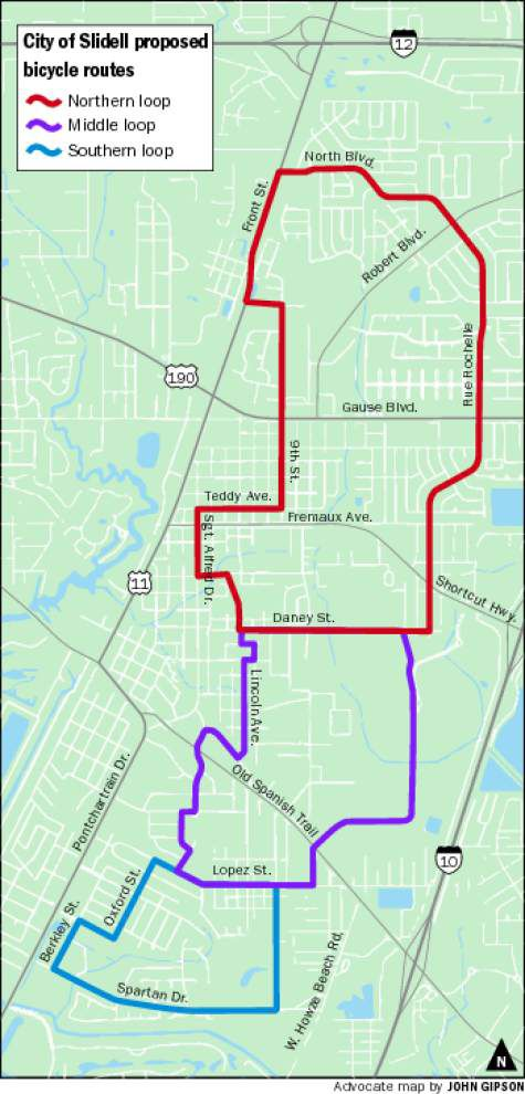 Slidell wheels toward cyclist-friendly future _lowres
