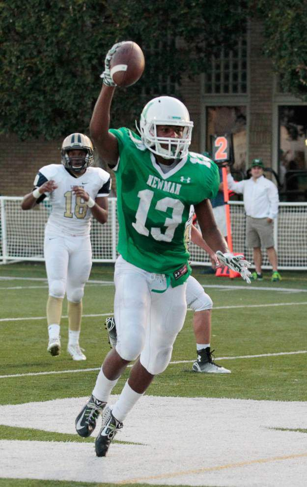 Newman wide receiver Elbert Thomas III in exclusive company on career receiving list _lowres