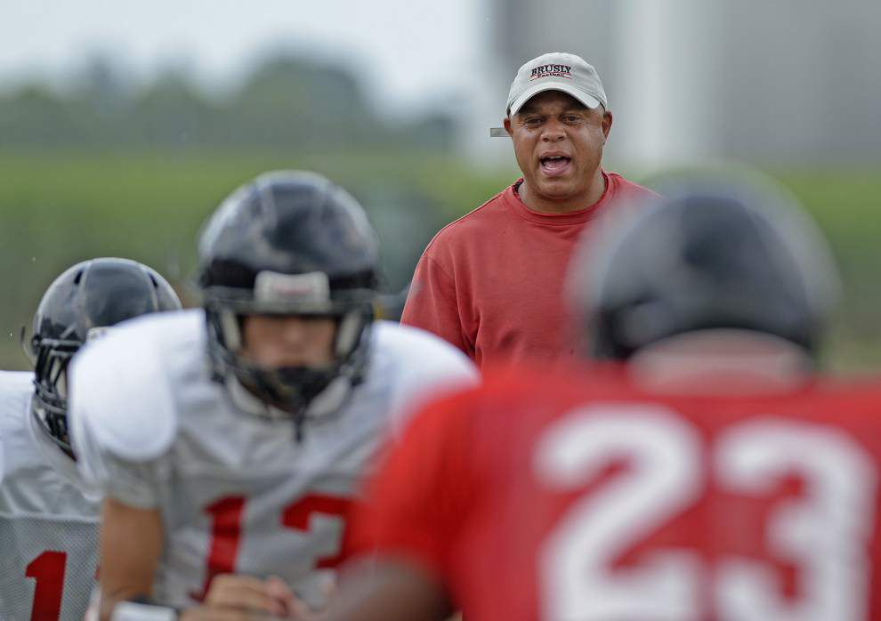 Brusly coach Marc Brown familiar with St. Thomas Aquinas standout Edward Alexander _lowres