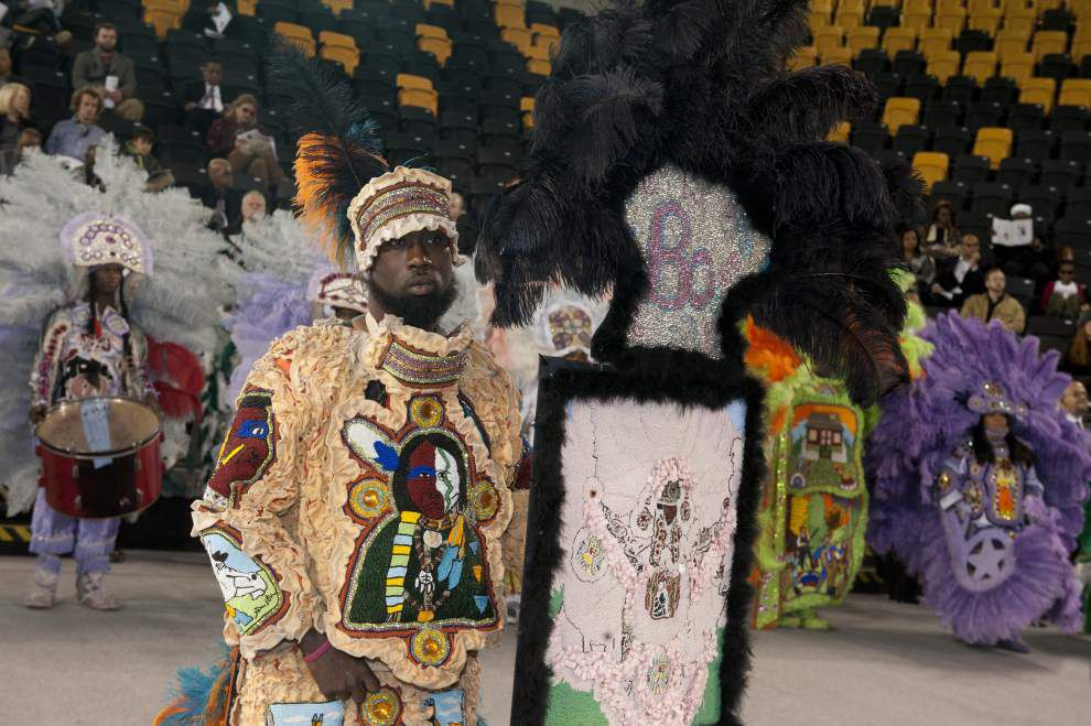 Big Chief Bo Dollis is laid to rest _lowres