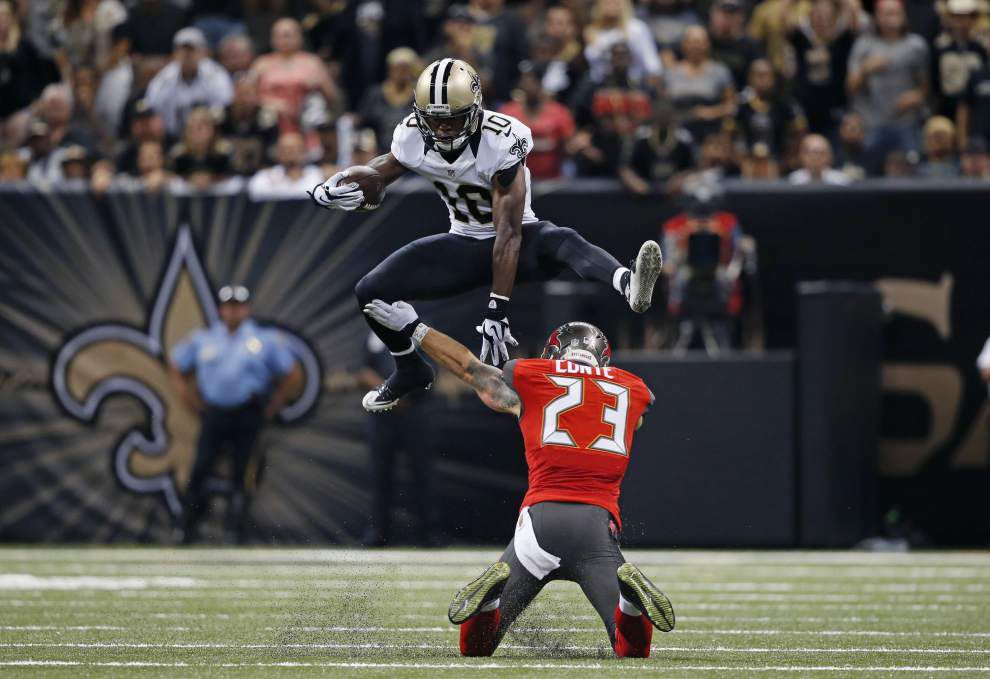 Source: Saints WR Brandin Cooks' ankle injury not considered serious _lowres