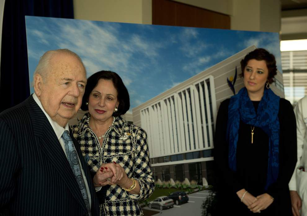 Twice as nice: Tom, Gayle Benson again make 'transformational' gift to Ochsner cancer institute for research, care _lowres