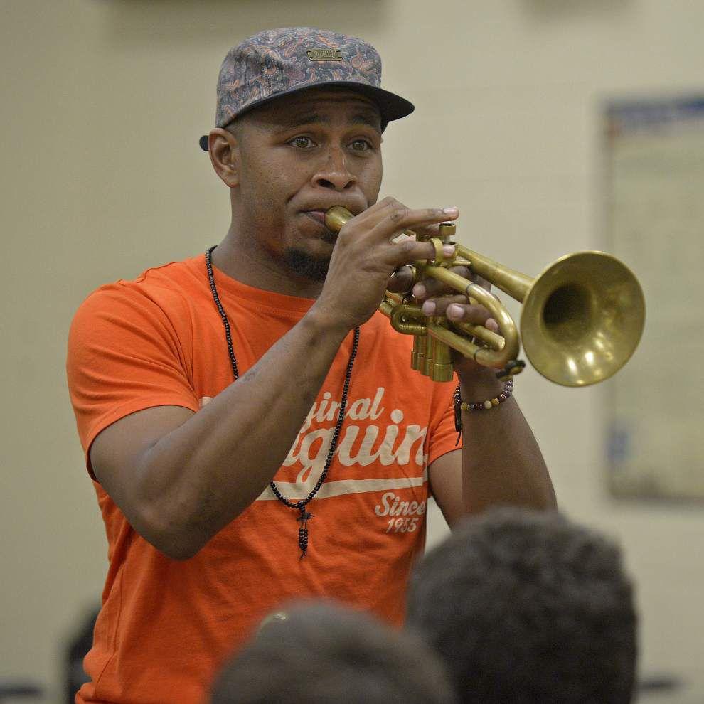 Denham Springs band kids stay sharp _lowres