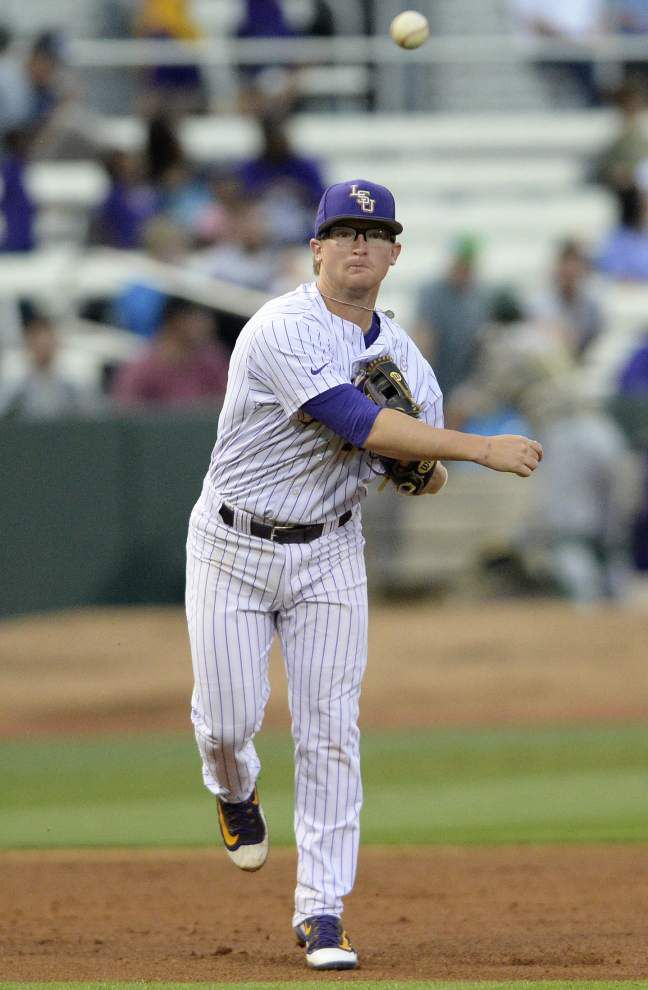 Steady and with a smooth swing, Chris Reid's emerged 'out of nowhere' to solidify LSU's third base dilemma _lowres