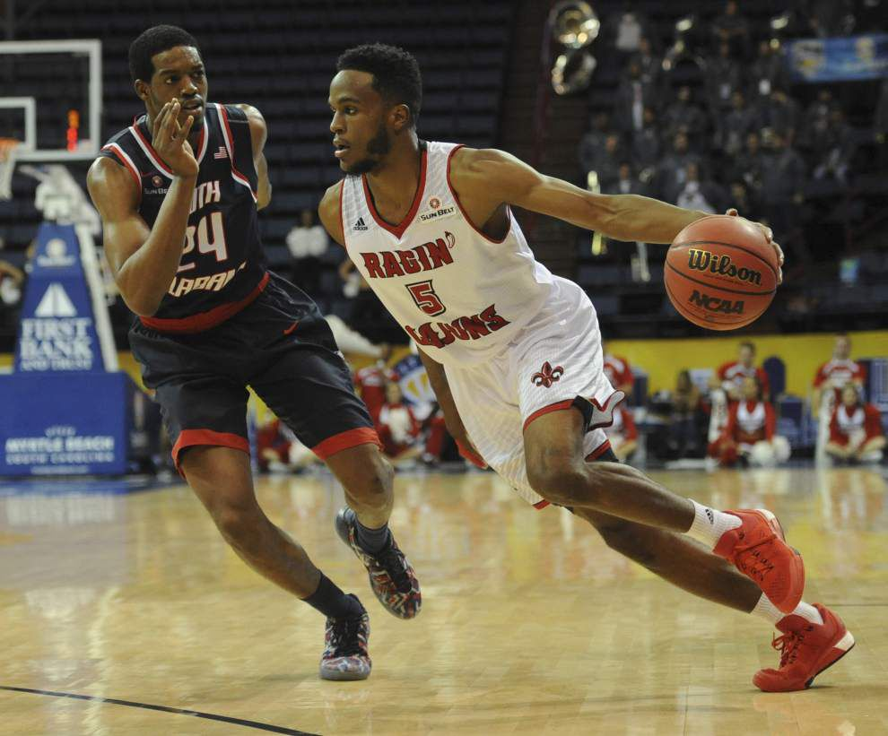 Shawn Long's huge night sends Cajuns to 90-68 win over South Alabama in Sun Belt quarterfinals _lowres
