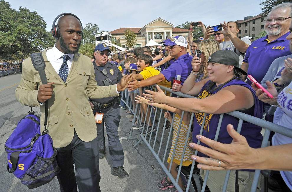 LSU's Leonard Fournette on how Alabama game 'gives me chills,' what fans are telling him _lowres