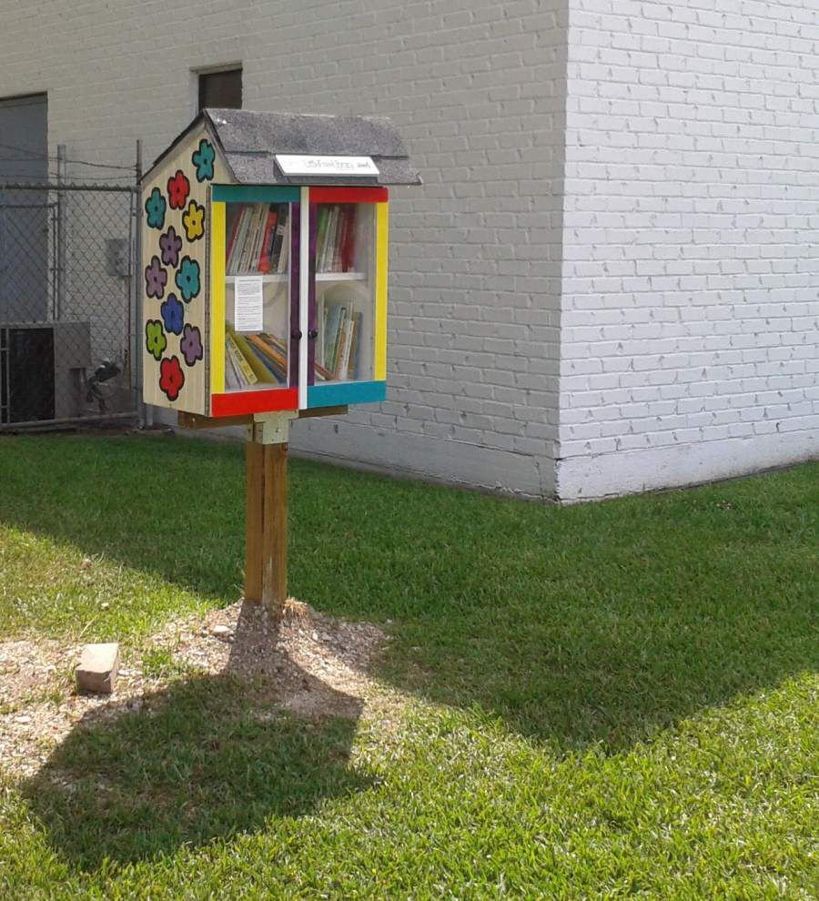 A Little Free Library grows in Gardere _lowres