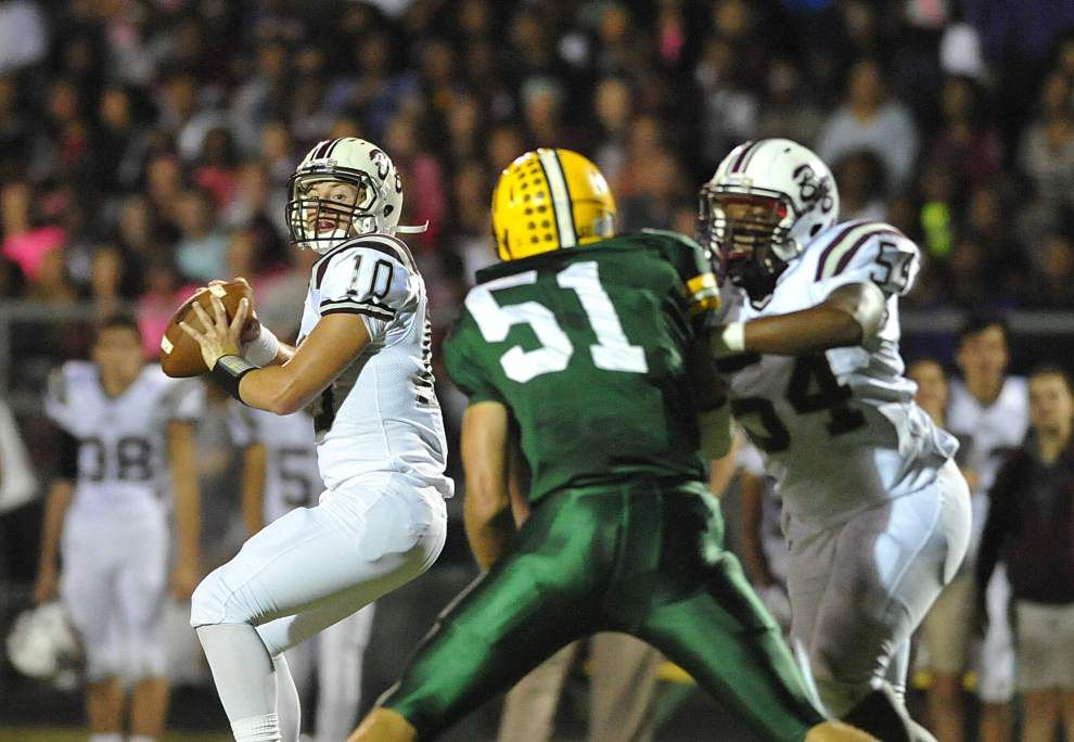 Photos: Breaux Bridge faced Cecilia, Teurlings clashed with Carencro in Acadiana area prep football _lowres