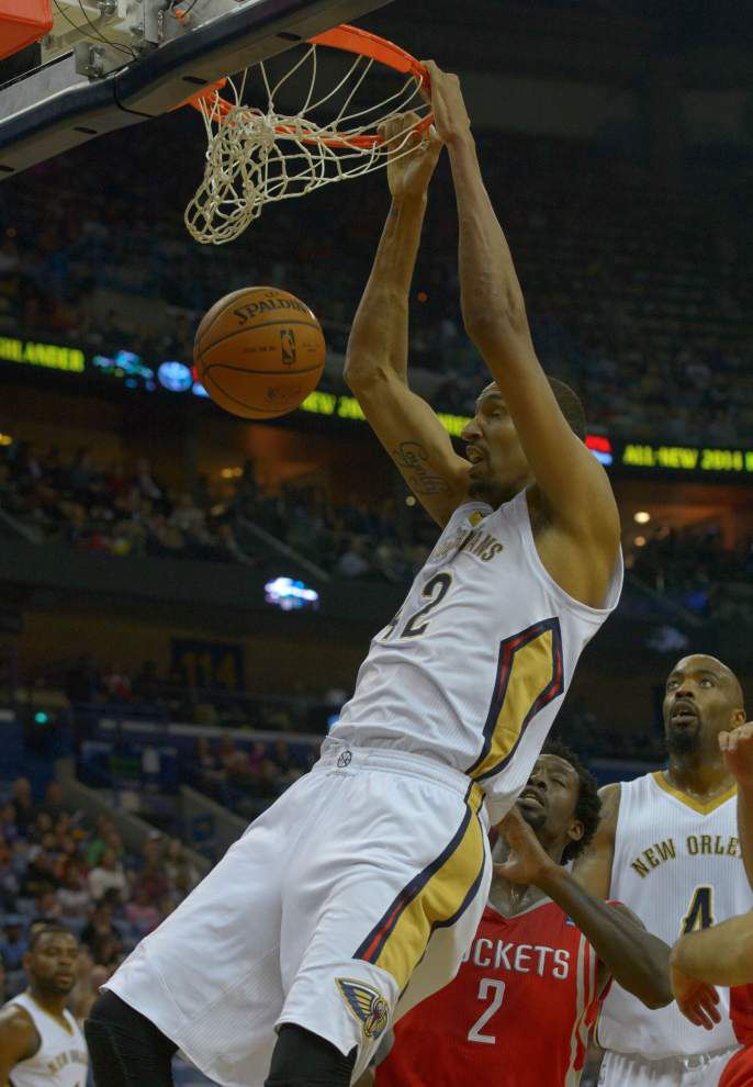 Workouts key period for Pelicans' Ajinca, Babbitt, Jackson _lowres