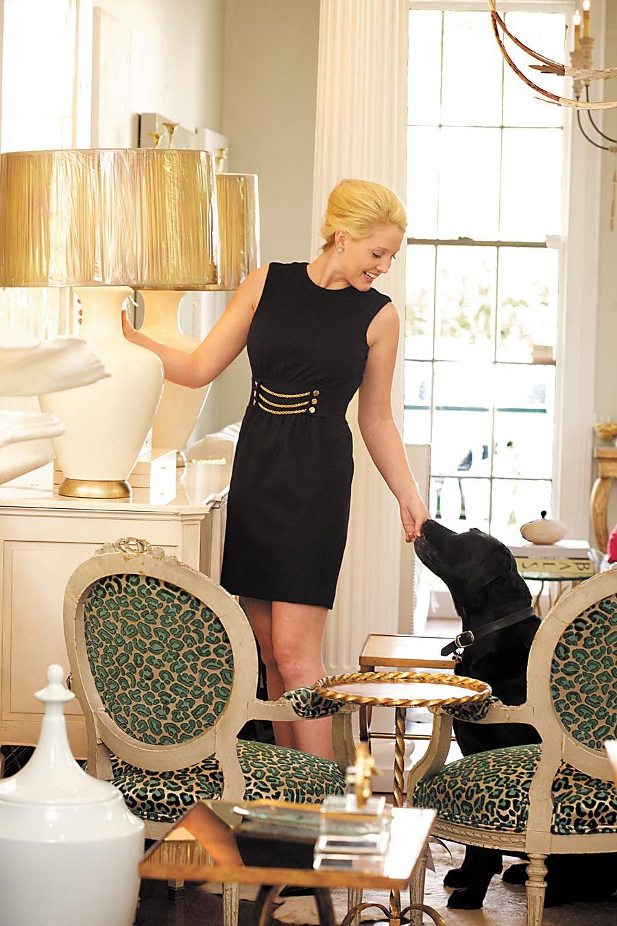 Classic fashion and interior design tips from Rivers Spencer_lowres