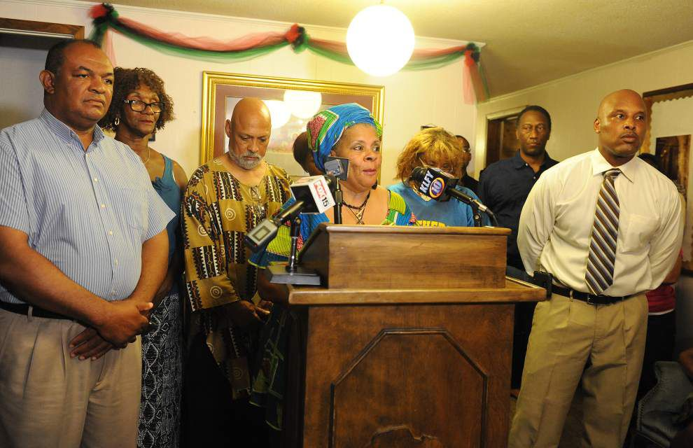 Black leaders call for improved response to racism within Lafayette Police Department _lowres