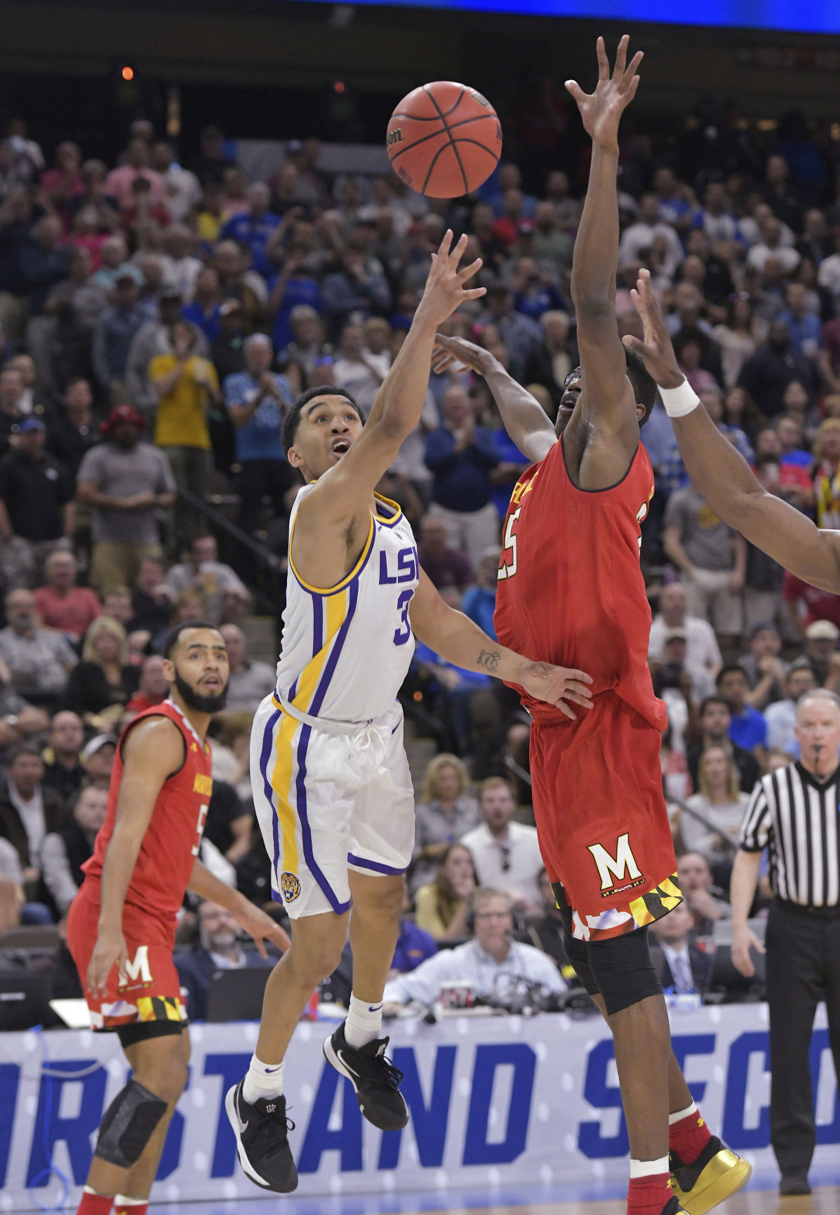 APTOPIX NCAA Maryland LSU Basketball